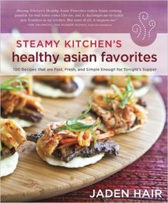 Korean Beef Bites from Steamy Kitchen's Healthy Asian Favorites by Jaden Hair Cookbook Recipes, Wine Recipes, Asian Recipes, Healthy Recipes, Healthy Meals, Beef Recipes, Easy Recipes, Healthy Food, Recipies