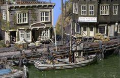 James Pridham's miniature Village EXQUISITE CRAFTSMANSHIP