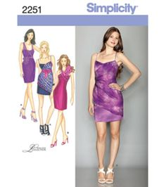 Simplicity Pattern 2251P5 12-14-16-1-Simplicity Misses