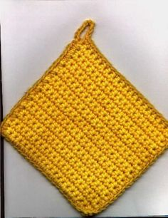 By far, the absolutely easiest crochet pattern I've found yet!