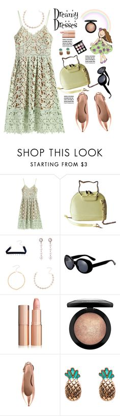"""""""So Pretty: Dreamy Dresses"""" by paculi ❤ liked on Polyvore featuring MAC Cosmetics, StreetStyle, casual and dreamydresses"""