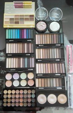 i heart makeup & makeup revolution!!!! i love shopping...