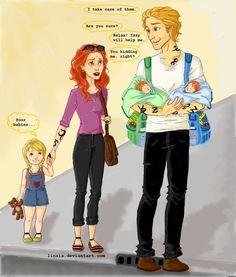 Herondale family. So cute!
