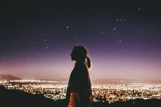 tyfrench:  She watched the stars, but I watched her. instagram.com/tyfrench