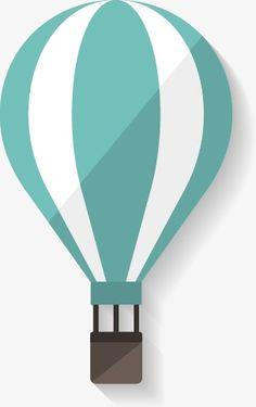 Cartoon hot air balloon PNG and Vector