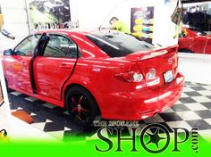 Mazda 6 Red The Spokane Shop Window Tinting Tint Clear Bra Paint Protection Film Detailing