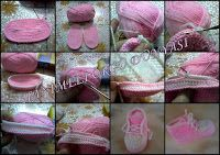 Tina's handicraft : 70 tutorials for baby shoes