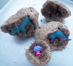 Coffee Dough Dinosaur Eggs