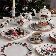 #Wedgwood #kerstservies
