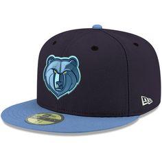 f31218d951284 Men s Memphis Grizzlies New Era Light Blue NBA On-Court Original Fit ...