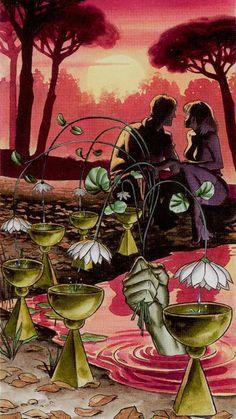 Six of Cups - Initiatory Tarot of the Golden Dawn by Giordano Berti, Patrizio Evangelisti