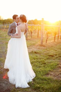 New Jersey Winery Wedding from Kay English  Read more - http://www.stylemepretty.com/2013/07/16/new-jersey-winery-wedding-from-kay-english/