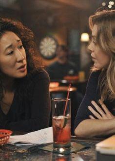 grey's anatomy Meredith and Cristina | Grey's Anatomy saison 5 épisode 5 : les images