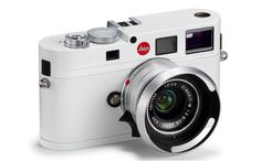 All-white Leica M8 via HighSnobiety.
