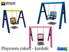 kardofe_Playroom colors_Swing set