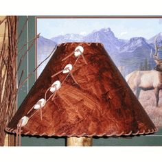 Have a look at our wide selection of handmade rustic rice paper lamp shades, handcrafted in America. #lampshades #rusticshades #rusticdecor