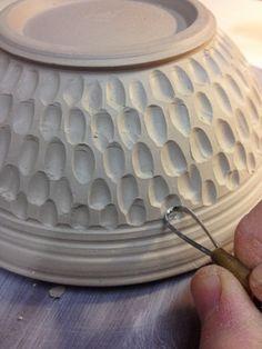bowl carving demo 2