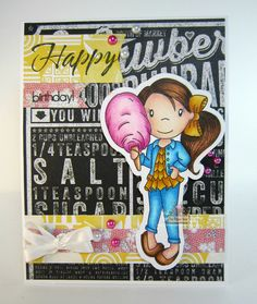 Cotton Candy Avery for Paper Nest Dolls, December 2015, created by Leah Tees, odetopaper.blogspot.ca
