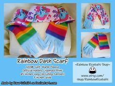 Rainbow Dash Scarf by RawrsuitGirl.deviantart.com on @deviantART