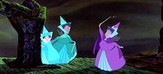 3 fairy godmothers.