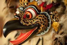 Crafting traditions in Bali - The Washington Post Barong Bali, Bali Lombok, Bird Masks, Indonesian Art, Tibetan Art, Japan Tattoo, Bali Fashion, Feather Art, Human Art