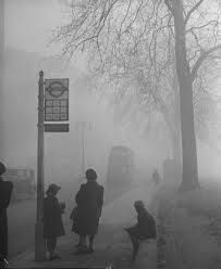 The Great Smog of '52  was a severe air-pollution event that affected London during December 1952. Government medical reports in the following weeks estimated that up until 8 December 4,000 people had died prematurely and 100,000 more were made ill because of the smog's effects on the human respiratory tract. More recent research suggests that the total number of fatalities was considerably greater, at about 12,000.