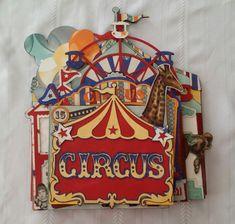Carnival Mini Album - Scrapbook.com