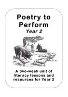 Classic Performance Poetry Unit Year 2 (Christina Rossetti): A two-week literacy unit of work for Year 2, including lesson plans and pupil resources, looking at some classic poems by Rossetti containing with animal and mythological characters.