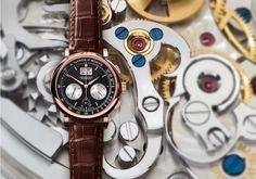 #TiempoPeyrelongue Expertos de la industria encuentran al DATOGRAPH de A. Lange & Söhne como uno de los cronógrafos más reconocidos.