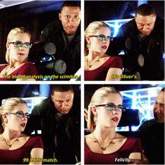 Felicity & Diggle #Arrow #LeftBehind