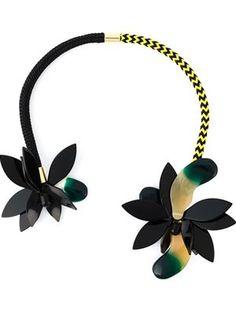 Designer Necklaces for Women 2015 - Farfetch Floral Necklace, Love Necklace, Statement Necklaces, Famous Jewelry Designers, Diamond Jewelry, Silver Jewelry, Bird Template, Luxury Jewelry, Unique Jewelry