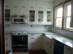 IKEA kitchen - double hung