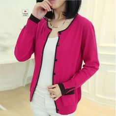 cardigan women Cashmere Patchwork O-neck sueter plus size Casual Design Candy Color sweater woman