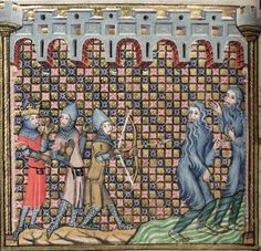 Bodleian Library MS. Bodl. 264, The Romance of Alexander in French verse, 1338-44; 63v