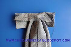 Chica Perika: Tutorial de Cómo hacer una corbata para niño a partir de la de un adulto   Recetas   Costura   Manualidades   Tutoriales Sewing Hacks, Sewing Projects, Sewing Tips, Gender Reveal, Gifs, Carnival, Clothing, Tutorials, Shirts