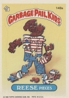 stu spew garbage pail kids | Jay Decay - In many ways, this one was probably my number one ...
