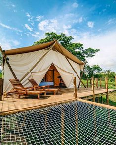 Offer Good Until They're Gone => This particular thing For facts about survival will look totally excellent, need to bear this in mind when I have a bit of cash saved. Glamping, Tent Camping, Luxury Tents, Luxury Camping, Cabana, Camping Con Glamour, Art Rose, Bell Tent, Farm Stay