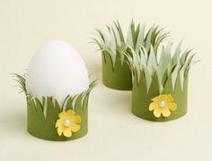 Schattige eierdopjes, niet moeilijk te maken