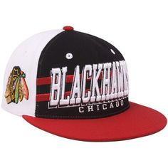 NHL Zephyr Chicago Blackhawks Black-Red Supersonic Snapback Adjustable Hat- by Zephyr. $19.95. Zephyr Chicago Blackhawks Black-Red Supersonic Snapback Adjustable Hat-Quality embroideryImportedAdjustable plastic snap strapOfficially licensed NHL productSix panels with eyelets65% Acrylic/35% WoolFlat billStructured fit65% Acrylic/35% WoolStructured fitAdjustable plastic snap strapQuality embroideryFlat billSix panels with eyeletsImportedOfficially licensed NHL product