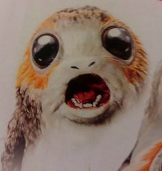 An image that will give you nightmares. (x) #porg#star wars tlj merchandise