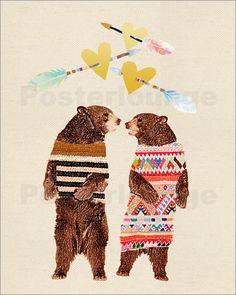 GreenNest - Bears in love