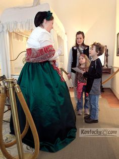 Photo Gallery: Presidents' Day at the Mary Todd Lincoln House in Lexington, Ky.