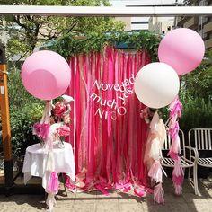 こんにちは♡☺︎ チャビーバルーンです  今日は、北堀江envueさんで行われている ブライダルフェアにきております!♡☺︎ ■nico accessory (ハンドメイドアクセサリー) ■novedad. (ハンドメイドアクセサリー) ■muchyes(花冠)  などの とってもかわいい アクセサリーたちがいっぱいです!! 私もお買い物しちゃいました♡☺︎ チャビーバルーンは  Photo Boothの フリンジバルーンを 協賛させていただしました♡  19時まで開催しておりますので、 ぜひ皆様遊びにいらしてくださいね♡☺︎☆ バルーンを通して たくさんの方にHAPPYを お届けできますように…♡☺︎ チャビーバルーン@