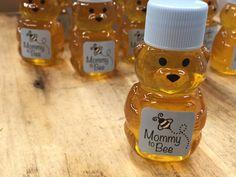 Baby Shower Honey Bear Favors Blue Mommy to by KlineHoneyBeeFarm