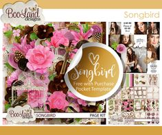 Beautiful new release- Songbird! #songbird #boolanddesigns #freewithpurchasegift