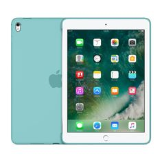Silicone Case for 9.7-inch iPad Pro - Ocean Blue - Apple