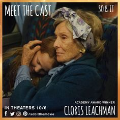"""""""Wilinsky family reunion. There are going to be fifty two of us this year. You realize what that means? Fifty two Wilinskys. You could put a Wilinsky in every state and have two left over.""""  Academy Award Winner Cloris Leachman is Alice. #meetthecast #sobit"""