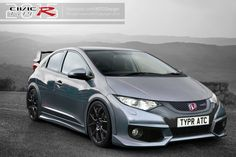 2015 civic type r | ... Type-R-2015/280-chevaux/Exterieur/Illustration-Honda-Civic-Type-R-2015