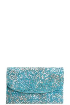stingray clutch love the colors! Classic Girl, Color Of Life, Teal, Turquoise, Blue, Color Inspiration, Stylish Outfits, Favorite Color, Personal Style