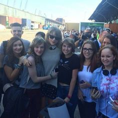 """"""" Taylor in Germany with fans 9/4/14 (x) """""""
